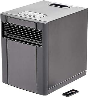 AmazonBasics – Calefactor portátil, 1500W, carcasa Negra