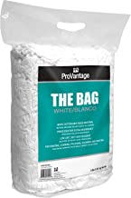ProVantage Bag of White Rags, 4 lb, Great Value and Performance for a Variety of Uses