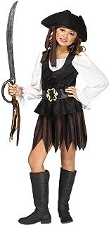 Fun World Rustic Pirate Maiden Children's Costume, Small, Multicolor 119912S