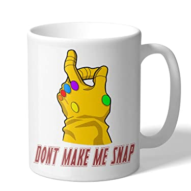 MugBros Don't Make Me Snap Thanos Infinity War Coffee Mug