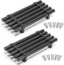 Yorbay 10 Pack kast handgrepen roestvrij staal keuken T bar handvat lade deur kast kast meubels trekt knoppen diameter 14m...