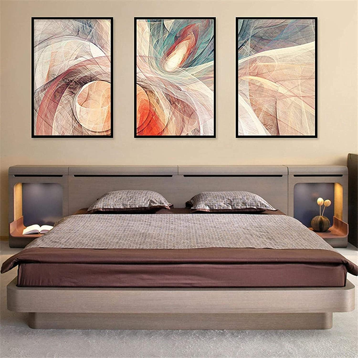 Nordic Our shop most popular Style 3 Piece 15.7x23.6in No Abstra Frame 40x60cm 100% quality warranty