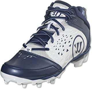 Pick Size NEW Mens Warrior Burn 2nd Degree Lacrosse Cleats White Silver