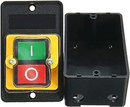 Motor de Taladro Negro Uso de la máquina Botón de Encendido/Apagado a Prueba de Agua Interruptor de botón a Prueba de Agua KAO-5 AC 220 / 380V