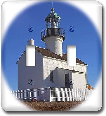 3drose Llc Lsp 90805 1 Chesapeake Bay Hooper Straight Lighthouse Us21 Wbi0063m Walter Bibikow Single Toggle Switch Switch Plates Amazon Com