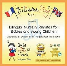 CD de comptines anglaises et françaises   Anglais pour les tout-petits et bébés   BILINGUASING Vol. 2 CD (Baby Loves French