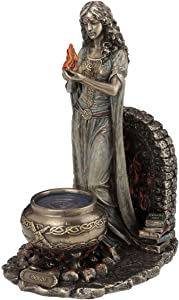BRIGID celta Diosa Estatua Figura Escultura Wicca keltisch