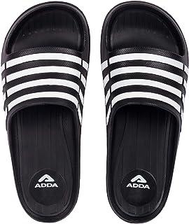 ADDA iRun Men's Black EVA Slides