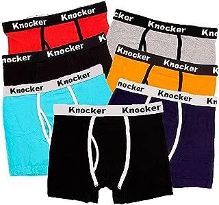 Men's 4 Pack of Stretch Cotton Color Boxer Briefs