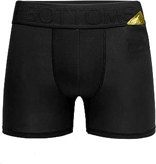 Men's Underwear Boxer Briefs Compression Brief for Men Boxers Hidden Pocket