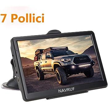 touch screen TFT-LCD da 7 pollici Navigatore per auto Navigatore GPS 256M 8GB Risoluzione display Bluetooth FM 800 Navigazione GPS per auto Europa 480