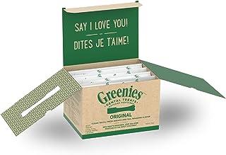 GREENIES Original TEENIE Natural Dog Dental Care Chews Oral Health Dog Treats, 18 oz. Pack 4