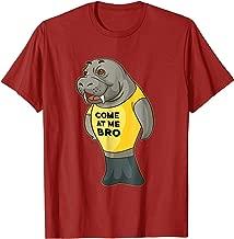 Come At Me Bro Manatee Shirt Come At Me Bro Sea Cow Shirt