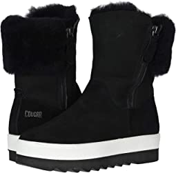 Black Suede/Shearling