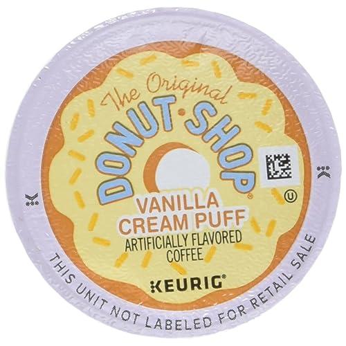 The Original Donut Shop Vanilla Cream Puff - 18 ct