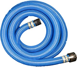 Apache 98108500 3//4 x 8 Farm Fuel Transfer Hose wtih Male x Male Crimped Fittings