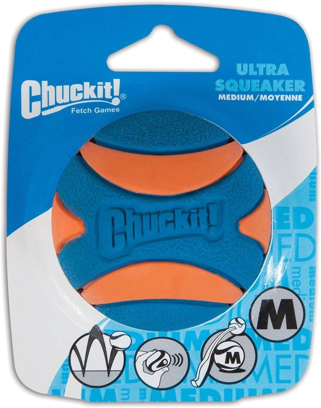 Chuckit Ultra Squeaker Ball Dog service Toy - 2.5