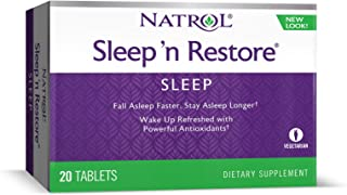 Natrol Sleep N Restore Tablets, 20-Count