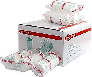 4 x vendas de yeso de 10 cm x 300 cm 12 metros // 1,20 m2 venda de yeso para abdomen de beb/é//modelado//impresi/ón de cara//m/áscaras de yeso//fines m/édicos y mucho m/ás en el paquete de ConsuMed