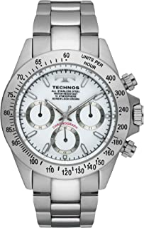 TECHNOS(テクノス) クロノグラフ腕時計 スポーティ精悍な多機能ウォッチ! TSM401SW 【並行輸入品】
