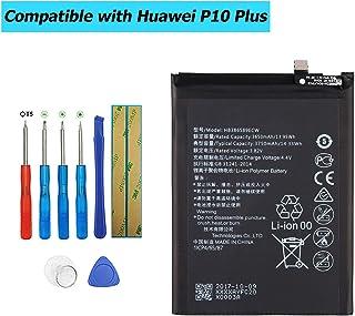 Upplus HB386589ECW - Batería de Repuesto Compatible con Huawei P10 Plus P10 Plus Premium Edition Honor View 10 Mate 20 Lite Nova 3 VKY-AL00 VKY-L09 VKY-L29 con Kit de Herramientas