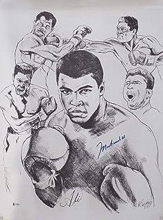 d80d0a64633 Muhammad Ali Autographed 18x24 Sketch Lithograph Photo Beckett BAS #A70604  - Beckett Authentication - Autographed