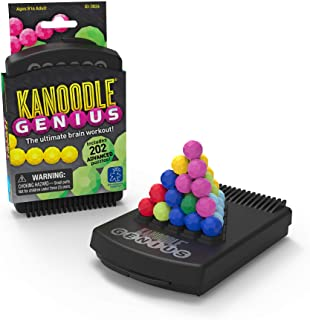 Educational Insights Kanoodle Genius Puzzle Game for Adults, Teens & Kids, 3-D Puzzle Game, Over 200 Challenges, Ages 8+