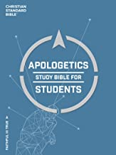 CSB Apologetics Study Bible for Students: Black Letter, Teens, Study Notes and Commentary, Ribbon Marker, Sewn Binding, Ea...