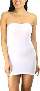 فستان ToBeInStyle بدون حمالات للنساء