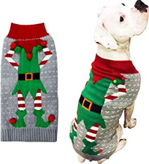 ugly sweater pitbull