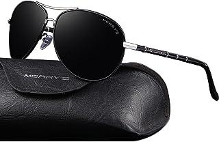 e847e57104c MERRY S Premium Fashion Style Mens Classic pilot Sunglasses Polarized 100%  UV protection sun glasses for