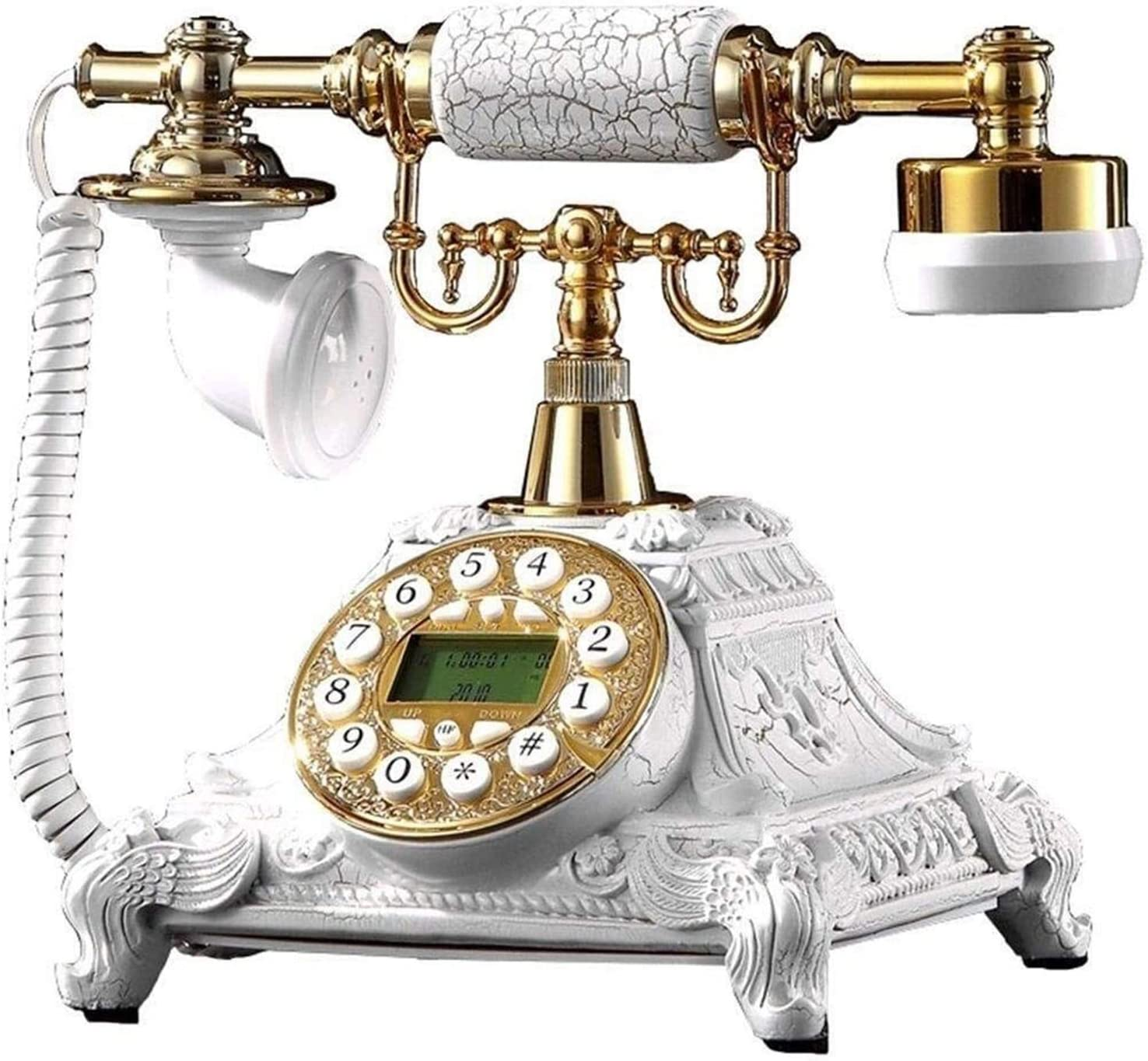 ZHENGYU Vintage Decorate European High order Antique Classic Type Telephone Large special price