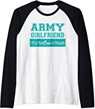 Army Girlfriend - Ooo In the Hooah Raglan Baseball Tee