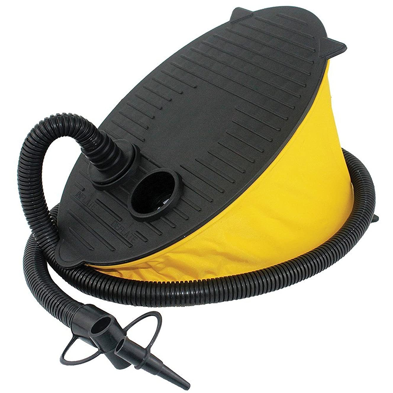 FX Foot Air Pump Inflator for Swimming Ring Inflatable Float Boat or Balloon Airbeds Portable
