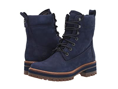 Timberland Courmayeur Valley 6 Boot (Navy Nubuck) Women