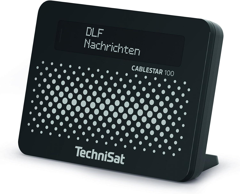 CABLESTAR 100 - Adaptador de Radio Digital (para programas de Radio Digitales sin cifrado Mediante Cable de Red), Color Negro