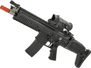 Evike FN Herstal Licensed Full Metal Scar-L Airsoft AEG Rifle by WE-Tech (Color: Black/CQB)