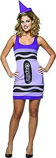 Crayola Wisteria Tank Dress