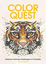 Download Book Color Quest: Extreme Coloring Challenges to Complete PDF