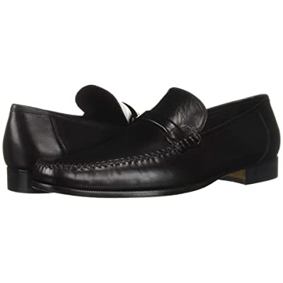 Bruno Magli Porro (Black Nappa Leather) Men