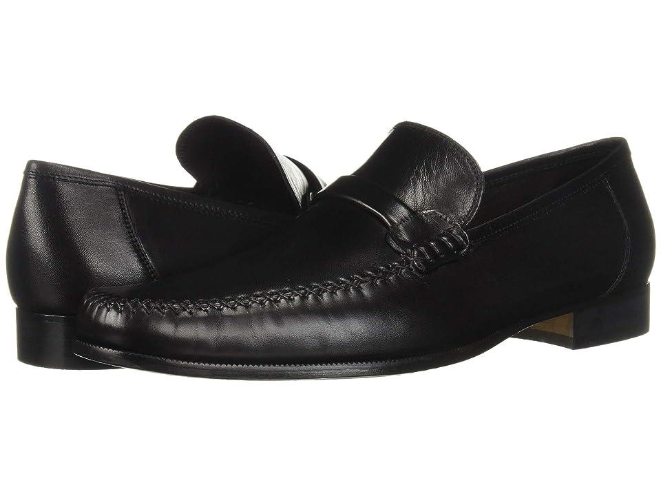 Bruno Magli Porro (Black Nappa Leather) Men