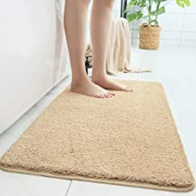 Simple Soft Carpet Living Room Bedroom Sofa Bedside Rug Wear-Resistant Kitchen Bathroom Non-Slip Absorbent Pad Rectangle (...