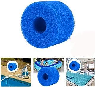 XIAOL Cartucho de filtro para Intex tipo S1, espuma de filtro de piscina, reutilizable, lavable (2 unidades)