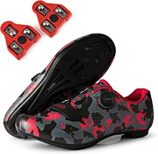 Mens Womens Peloton Shoes Road Bike Cycling Shoes with...
