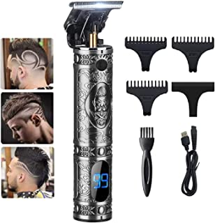 GSKY Outline Hair Trimmer for Men Professional Electric T Blade Outline Trimmer Pro Li Outline Hair Trimmer Grooming Cordl...