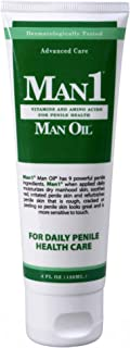Man1 Man Oil Penile Health Cream – Advanced Care. Treat Dry, red, Cracked or..