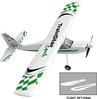 Volantex Remote Control Airplane TrainStar Epoch Electric RC Trainer Aircraft with Gyro, Floats Optional, Plastic Unibody Fuselage PNP Version NO Radio NO Battery (747-6 PNP)