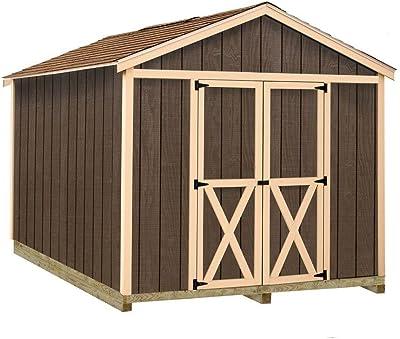 Amazon.com : Suncast 4 x 8 Tremont Storage Shed with ...