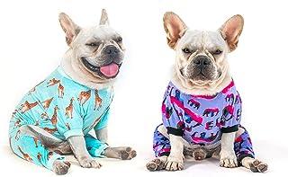 CuteBone Dog Clothes Pjs Dog Apparel Dog Jumpsuit Pet Clothes Pajamas