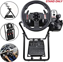 Eilsorrn Racing Wheel Stand fit for Logitech G25/G27/G29/G920 Most Thrustmaster Gaming Steering Wheel, Xbox360/One, Playst...